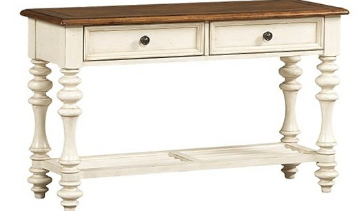 Featured Photo of Antique White Distressed Console Tables