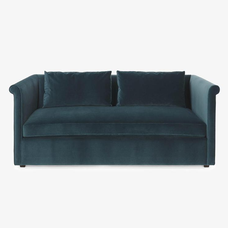 Allie Jade Sofa Chairs Throughout Popular Teal Queen Sleeper Sofa – Architecture Home Design • (View 18 of 20)