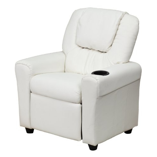 Amala White Leather Reclining Swivel Chairs With Popular White Leather Recliner Chair: Amazon (Gallery 20 of 20)
