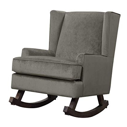 Amazon: Abbey Avenue A Sad 043ac Sadie Rocker, Granite: Kitchen With Regard To Most Recently Released Abbey Swivel Glider Recliners (View 11 of 20)