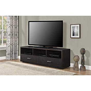 Amazon: Ameriwood Home Clark Tv Stand For Tvs Up To 70 Throughout Most Up To Date Abbot 60 Inch Tv Stands (View 6 of 20)