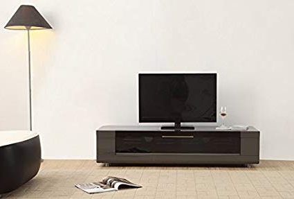 Amazon: B Modern Editor Remix Mini Grey High Gloss Tv Stand Throughout Recent B Modern Tv Stands (View 2 of 20)