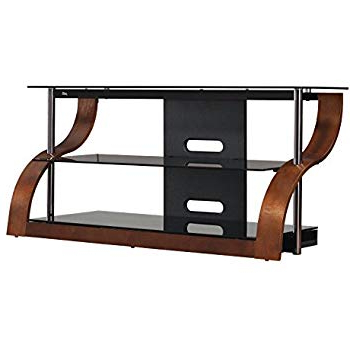 "Amazon: Bell'o Cw343 52"" Tv Stand For Tvs Up To 55"", Espresso For Most Current Abbot 60 Inch Tv Stands (View 7 of 20)"
