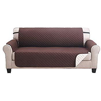 Amazon: Elaine Karen Deluxe Reversible Extra Wide Sofa Furniture Inside Recent Karen Sofa Chairs (Gallery 4 of 20)