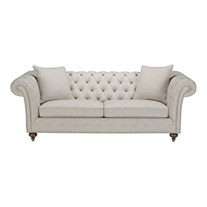 "Amazon: Ethan Allen Mansfield Sofa, 89"" Sofa, Hailey Natural Inside Widely Used Mansfield Beige Linen Sofa Chairs (View 2 of 20)"