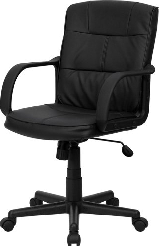 Featured Photo of Leather Black Swivel Chairs
