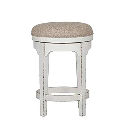 Amazon: Liberty Furniture Magnolia Manor Console Swivel Stool With Regard To Recent Manor Grey Swivel Chairs (View 14 of 20)