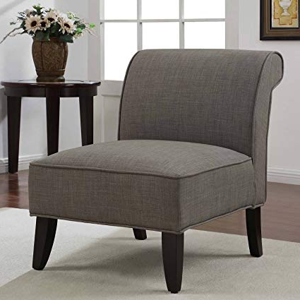 Amazon: Metro Shop Sadie Slipper Brown Derby Accent Chair Throughout Current Sadie Ii Swivel Accent Chairs (View 6 of 20)