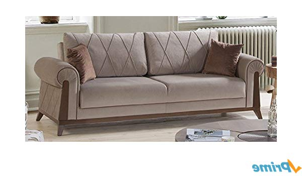 Amazon: Perla Furniture London Sofa 8: Kitchen & Dining In Recent London Optical Sofa Chairs (View 3 of 20)