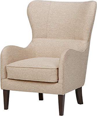 Amazon: Stone & Beam Sadie Buffalo Check Wingback Chair: Kitchen Intended For Most Up To Date Sadie Ii Swivel Accent Chairs (View 12 of 20)