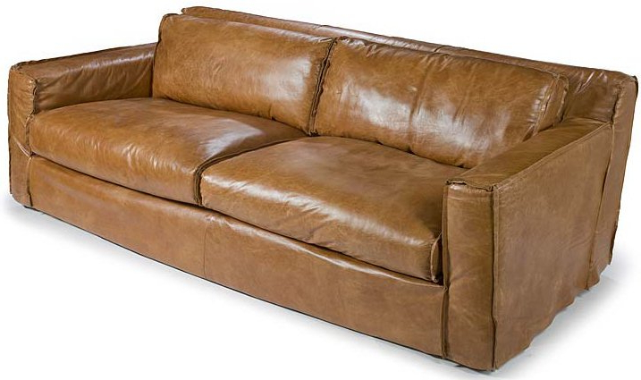 Andrew Leather Sofa Chairs With Latest Regina Andrew Design 44 0140 Halston Transitional Leather Sofa (View 4 of 20)