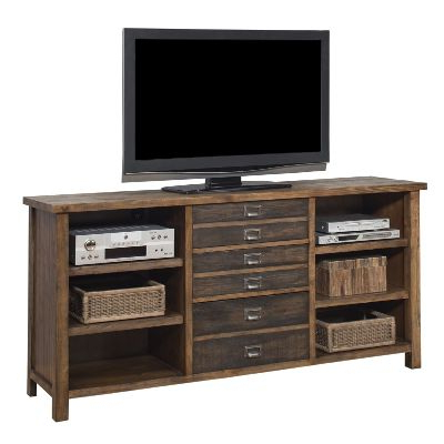 Annabelle Blue 70 Inch Tv Stands Within Well Known Copper Grove Carson Contemporary 70 Inch Dark Brown Wood Tv Cabinet (Gallery 17 of 20)