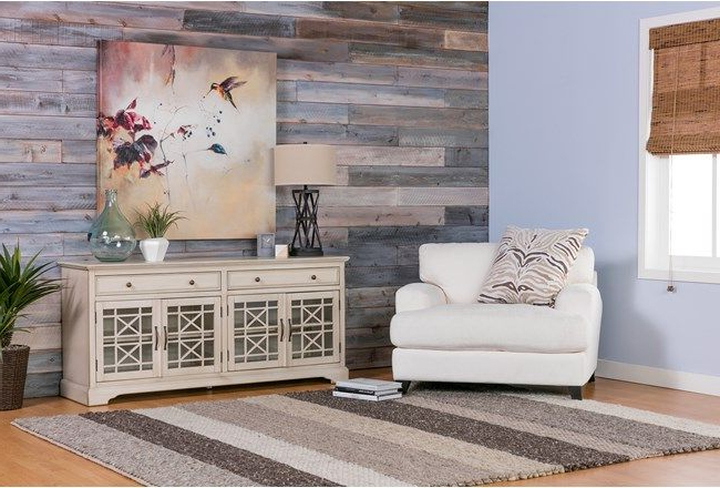 Featured Photo of Annabelle Cream 70 Inch Tv Stands