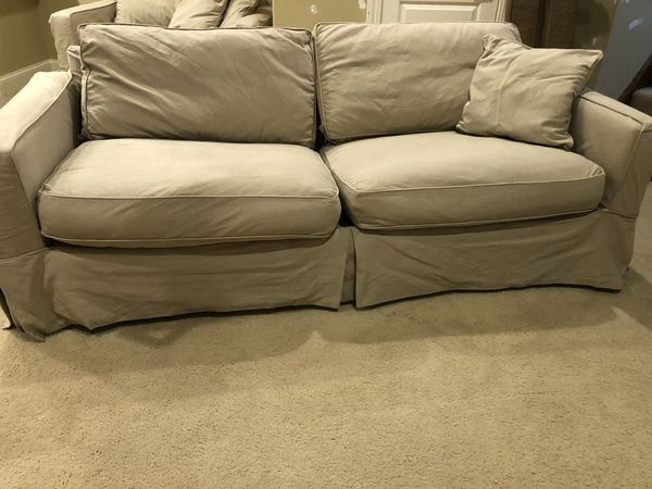Arhaus Sofa And Chair And A Half (View 4 of 20)
