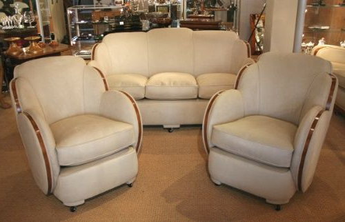 Art Deco Sofa And Chairs Regarding Recent Art Deco Sofa And Chairs (View 6 of 20)