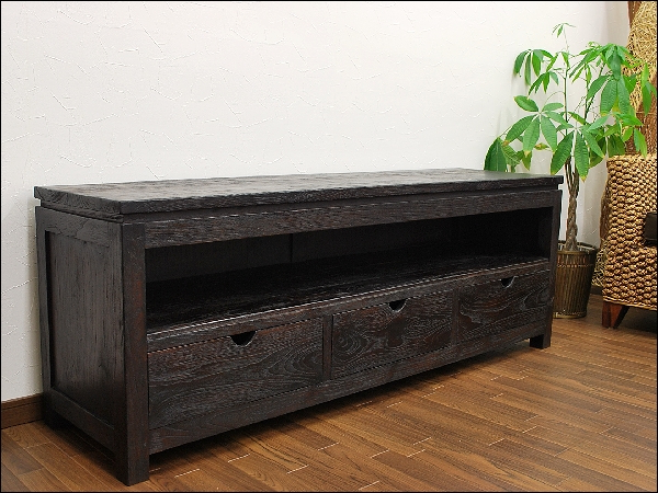 Asian Tv Cabinets For Recent Auc Mamoqq Rakuten Global Market Teak Solid Wood Regarding Solid (View 6 of 20)