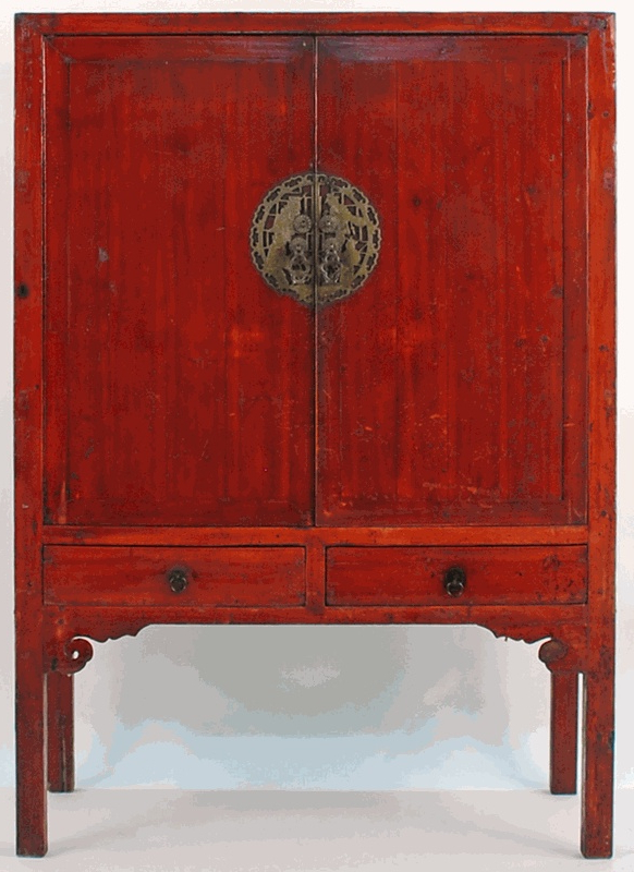 Asian Tv Cabinets In 2017 Antique Asian Furniture: Chinese 2 Door Armoire Cabinet From (View 8 of 20)