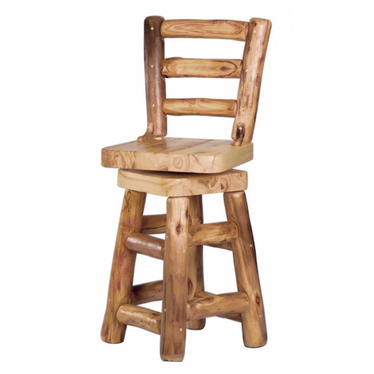 Aspen Log Bar Stool (View 1 of 20)