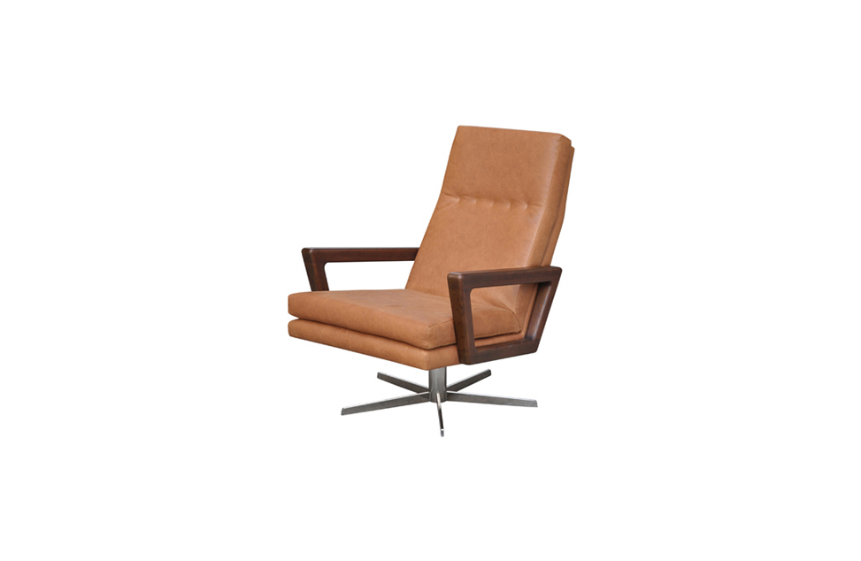Aspen Swivel Chairs Pertaining To Preferred Swivel Occasional Chair – Bay Leather Republic (View 4 of 20)