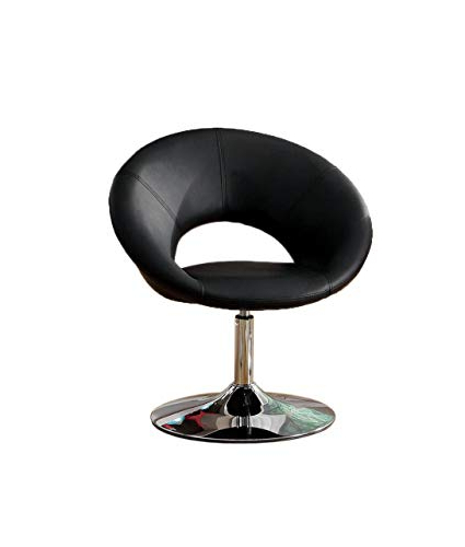 Aspen Swivel Chairs Within Newest Amazon: Furniture Of America Aspen Padded Leatherette Swivel (View 10 of 20)