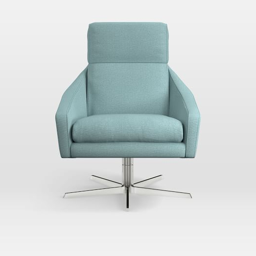 Austin Swivel Armchair (View 4 of 20)
