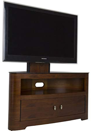Avf Fsl1000Blew Blenheim Tv Stand With Bracket – Walnut: Amazon.co Within Trendy Avf Tv Stands (Gallery 3 of 20)
