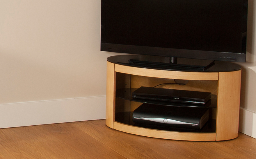 Avf Tv Stands For Most Recently Released Avf Buckingham Oak Tv Stand For Up To 37 Inch (View 15 of 20)