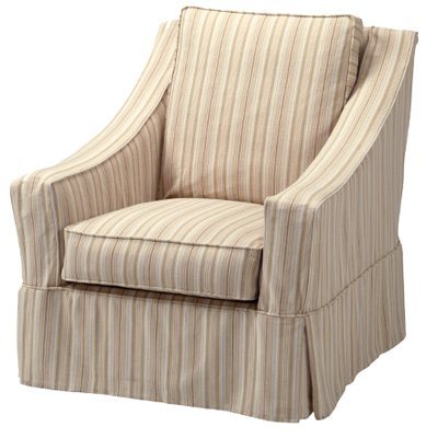 Bailey Roll Arm Skirted Swivel Gliders Throughout Newest Swivel Glider Chairs At Liz@home (View 3 of 20)