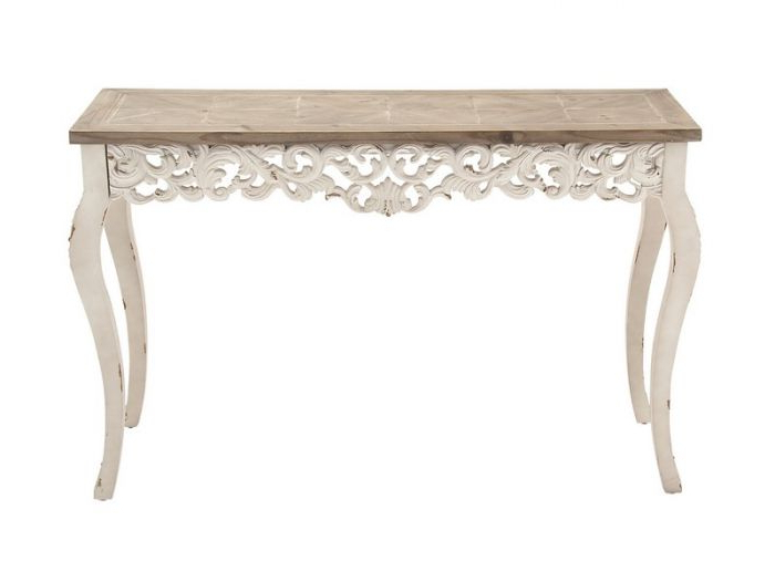 Balboa Carved Console Tables Throughout Trendy Carved Console Table Traditional Traditional Laeti Sarreid 40261 (Gallery 17 of 20)