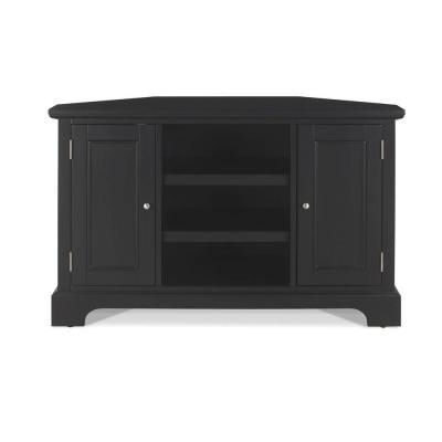 Bedford Black Corner Tv Stand – 429 The Home Depot (View 1 of 20)