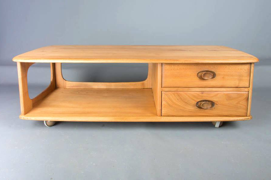 Beech Tv Stands With Regard To Well Known Beech Tv Stand Occasional Table Coffee Table Retro Solid Elm Beech (View 4 of 20)