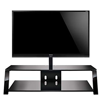 """Bell O Triple Play Tv Stands With Regard To Popular Amazon: Bell'o Tp4463 Triple Play 63"""" Tv Stand For Tvs Up To 70 (Gallery 8 of 20)"""