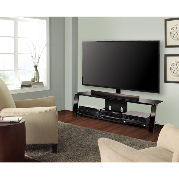 Bell O Triple Play Tv Stands Within Trendy Shop Bell'o Tp4463 Triple Play 63 Inch Black Tv Stand For Tvs Up To (View 12 of 20)