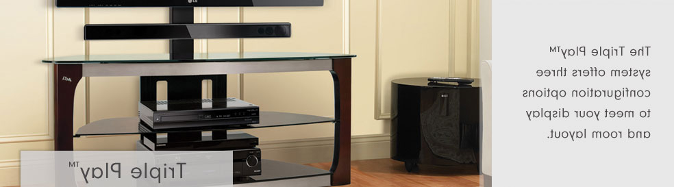Bell'o International Corporation – Triple Play™ Stands Inside Trendy Bell O Triple Play Tv Stands (View 12 of 20)