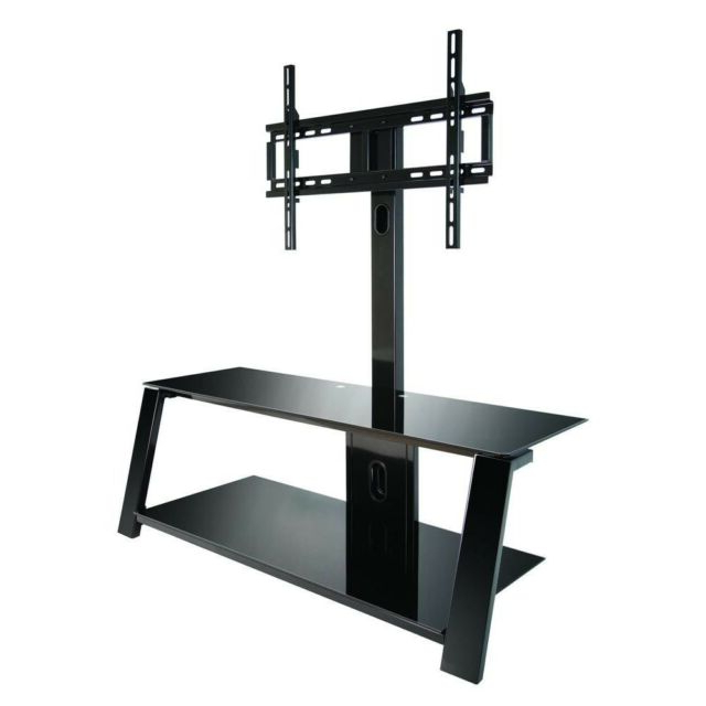 """Bell'o Tp4444 Triple Play 44"""" Tv Stand For Tvs Up To 55"""" Black (Gallery 11 of 20)"""