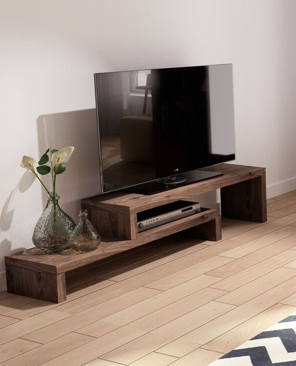 Bench Tv Stands With Regard To Well Known Cliff Tv Bench – Emfurn … (View 4 of 20)