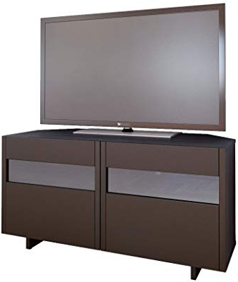 Best And Newest 24 Inch Deep Tv Stands Intended For Amazon: Domovero Helios 157 Modern Tv Stand Cabinets For Living (Gallery 13 of 20)