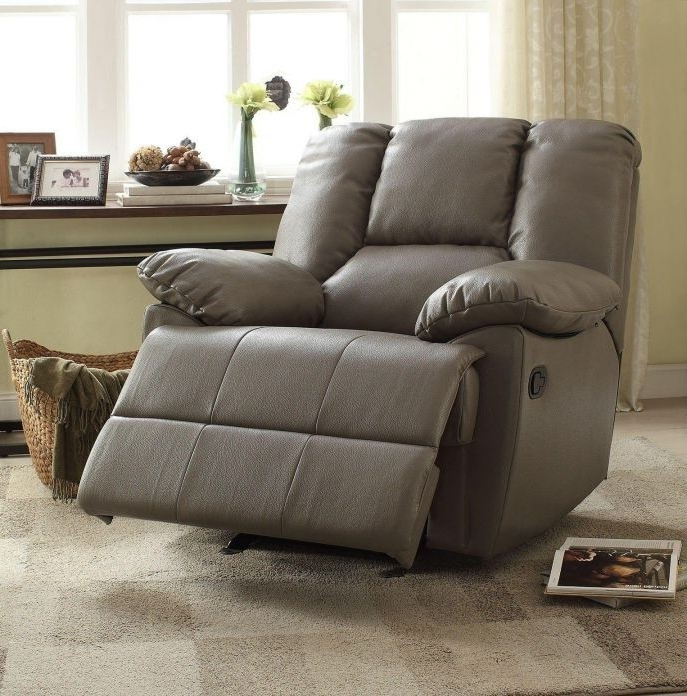 Best And Newest Amala Dark Grey Leather Reclining Swivel Chairs With Regard To Swivel Recliner Chairs For Living Room Living Spaces Spring (View 6 of 20)
