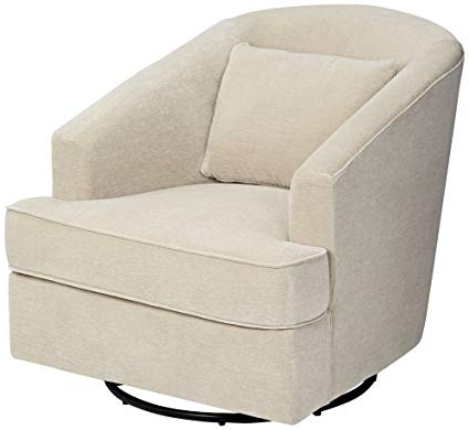 Best And Newest Amazon: Klaussner Devon Venice Cream Gliding Swivel Occasional With Regard To Devon Ii Swivel Accent Chairs (View 4 of 20)