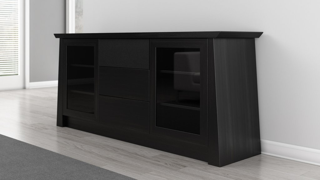 Best And Newest Annabelle Blue 70 Inch Tv Stands Inside Copper Grove Carson Contemporary 70 Inch Dark Brown Wood Tv Cabinet (Gallery 20 of 20)