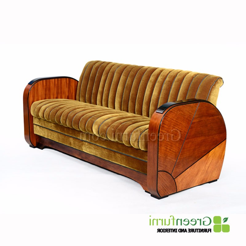 Best And Newest Art Deco Sofa And Chairs Intended For Luxury Artdeco Sofa Furniture Living Room – Buy Living Room Sofa (View 7 of 20)