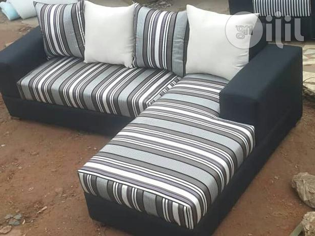 Best And Newest L Shape Sofa Chair With Throws,pillows (View 5 of 20)