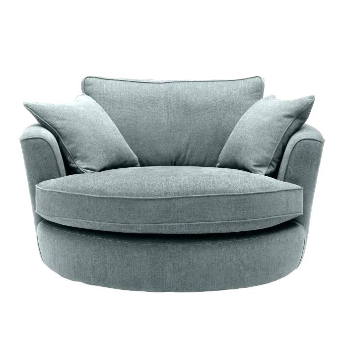 Best And Newest Round Sofa Chairs With Regard To Large Circle Chair Large Round Swivel Chair Designs And Ideas Large (View 2 of 20)