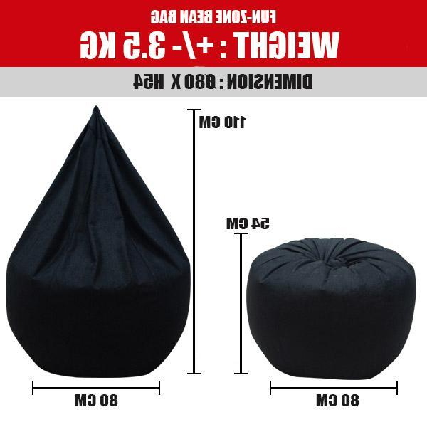 Best And Newest Viva Houz Fun Zone Bean Bag /sofa/chair, Xxl Size, ± (View 19 of 20)