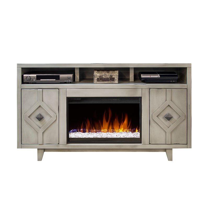 Beverly 61 Inch Fireplace Console – Tv Stands And Entertainment Pertaining To Famous 61 Inch Tv Stands (View 8 of 20)