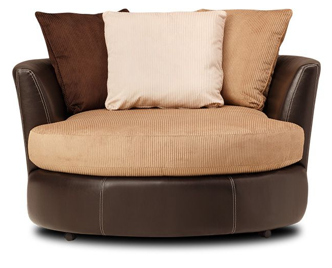 Big Daddy Swivel Chair, Cuddle Couch (View 4 of 20)