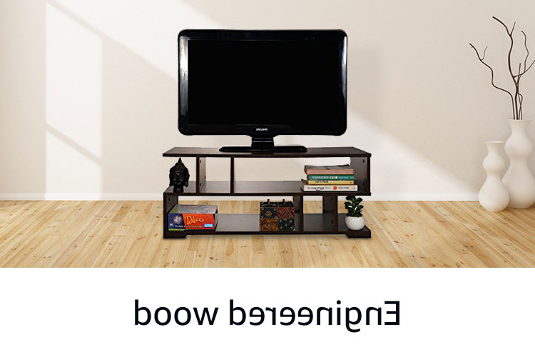 Big Tv Cabinets Inside Preferred Tv Unit: Buy Tv Unit Online At Best Prices In India – Amazon (View 6 of 20)