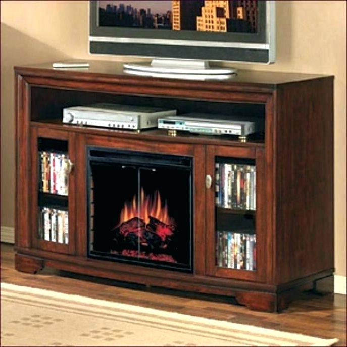 Big Tv Stands Furniture Regarding Trendy Costco Furniture Tv Stand Inch Stand With Fireplace Inch Electric (View 4 of 20)