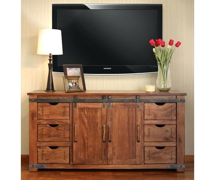 Blackwelder 82 Tv Stand Stands The Home Depot P – Probanki For Trendy Bale Rustic Grey 82 Inch Tv Stands (Gallery 14 of 20)