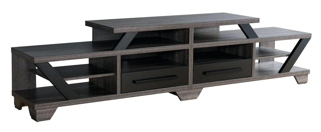 Blackwelder 82 Tv Stand Stands The Home Depot P – Probanki Pertaining To Popular Bale Rustic Grey 82 Inch Tv Stands (View 11 of 20)